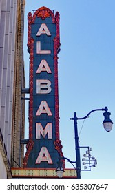 Alabama Sign; This is an old sign that still works