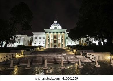 Alabama State Capital Montgomery Al