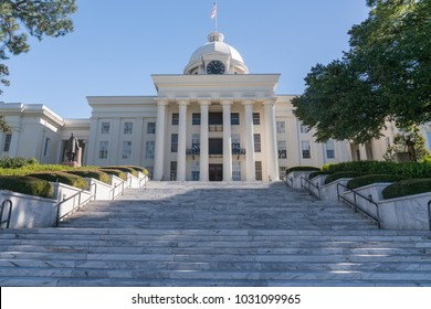 Alabama State Capitol Building in Montgomery, Alabama