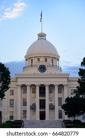 Alabama State Capitol Building in Montgomery, AL