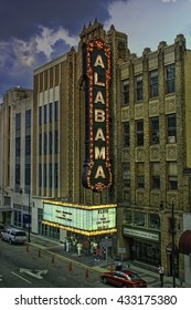 Alabama Theater was built in 1927 by Paramount Studios. In 1998, the Theatre reopened after a complete restoration. This photo was taken 2003