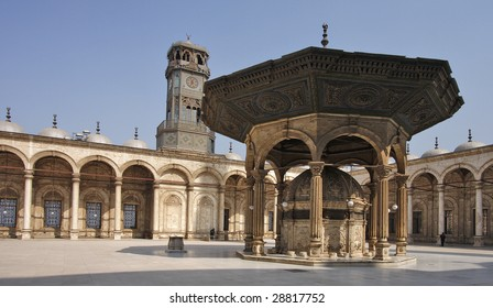 Alabaster Mosque of Mohamed Ali, Cairo, Egypt