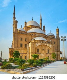 The Alabaster Mosque is the visit card of Cairo and one of the most beautiful historic buildings, created in Ottoman style and located in Saladin Citadel, Egypt.
