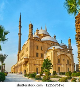 Alabaster (Muhammad Ali) Mosque is one of the most beautiful city landmark, located in Saladin Citadel, Cairo, Egypt.