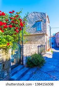 Alacati street view in Alacati Town. Alacati is populer historical tourist destination in Turkey.