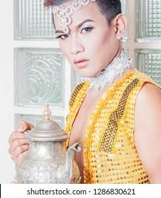 aladdin concept 2019, an unusual twist of costume for aladdin.