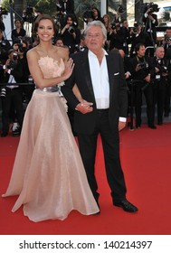Alain Delon at the closing awards gala of the 66th Festival de Cannes. May 26, 2013  Cannes, France