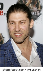 Alain Moussi at the Los Angeles premiere of 'Kickboxer: Retaliation' held at the ArcLight Cinemas in Hollywood, USA on January 17, 2018.