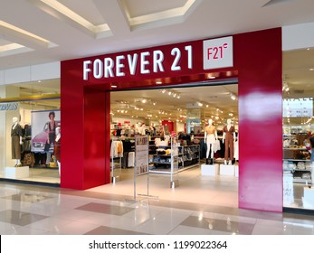 bcc3c6155b5 Alajuela, Costa Rica - October 04, 2018: Forever 21 store at City Mall