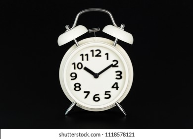 Alam clock with black background