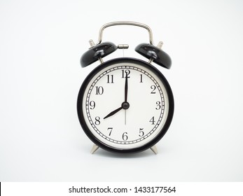 alam clock on white background