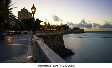 Alameda Apodaca Promenade Cadiz Spain