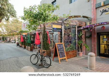 Alameda Ca Dec 01 2016 Restaurant Stock Photo Edit Now 532769269