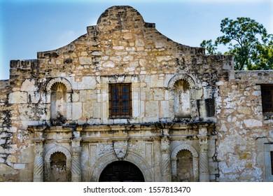 Alamo Mission San Antonio Texas.