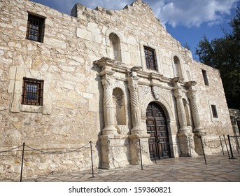 Alamo Mission, San Antonio, Texas, USA.