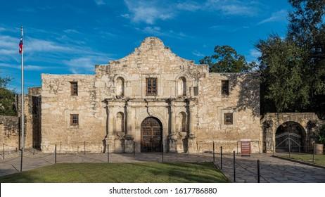 Alamo Mission in San Antonio, Texas