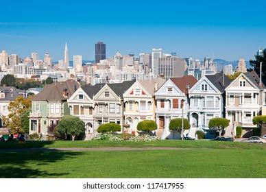 Alamo Square, San Francisco, California, USA