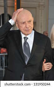 """Alan Arkin at the world premiere of his movie """"The Incredible Burt Wonderstone"""" at the Chinese Theatre, Hollywood. March 11, 2013  Los Angeles, CA Picture: Paul Smith"""