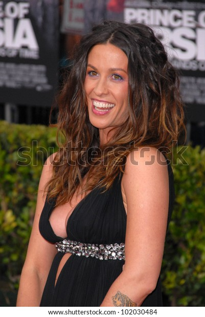 "Alanis Morissette at the ""Prince of Persia: The Sands of Time"" Los Angeles Premiere, Chinese Theater, Hollywood, CA. 05-17-10"