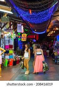 ALANYA - AUGUST 19:Grand bazaar Alanya, considered to be the old shopping mall on August 19 2013 in Alanya Turkey.