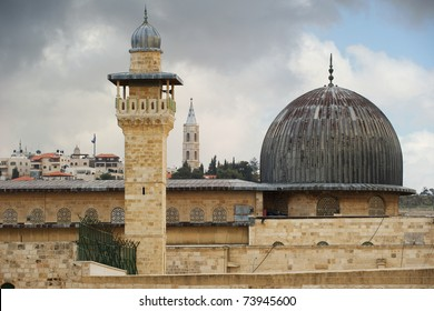 Al-Aqsa Mosque in Old City of Jerusalem, Israel