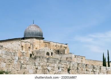 Al-Aqsa Mosque - Temple Mount - Jerusalem