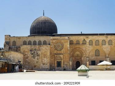 Al-Aqsa Mosque - third holiest place in Islam, Jerusalem, Israel