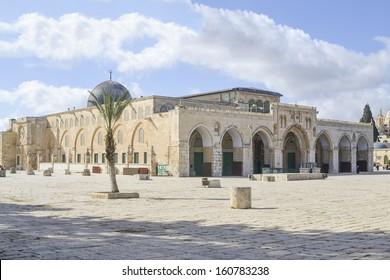 Al-aqsa mousque (Har Ha-Bayit), Jerusalem, Israel