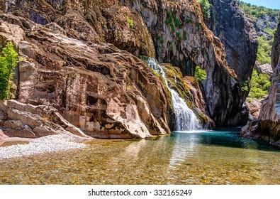 Alara Ucansu Selalesi, Waterfall, Turkey