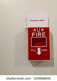 Alarm button to alert the fire