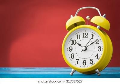 Alarm clock.