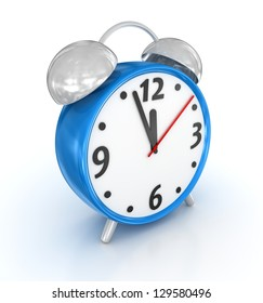 Alarm Clock , computer generated image. 3d render.