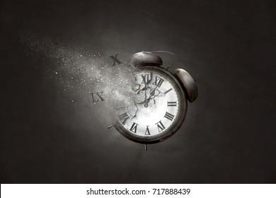 Alarm Clock disintegrates
