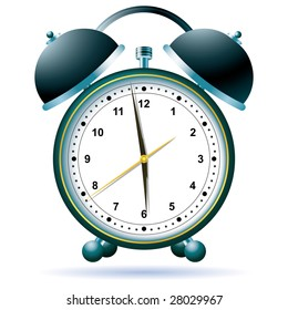 Alarm clock. The icon for your design.