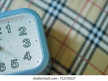 Alarm clock on working day