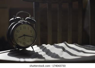 alarm old clock