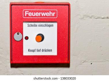 Alarm-Knopf