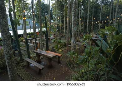 Alas trawas coffe shop in indonesia - Shutterstock ID 1955032963