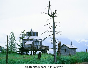 Alaska, the house in the wilderness