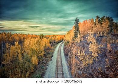 Alaska Railroad Train