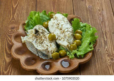 Alaskan Cod with Fennel, Olives,French-inspired stew