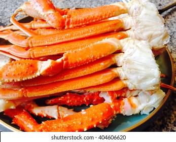 Alaskan crab, steamed crab dish?