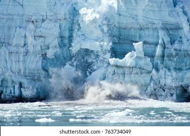 Alaskan Glacier melting