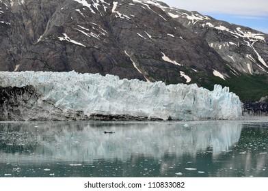 Alaskan Glacier reflection