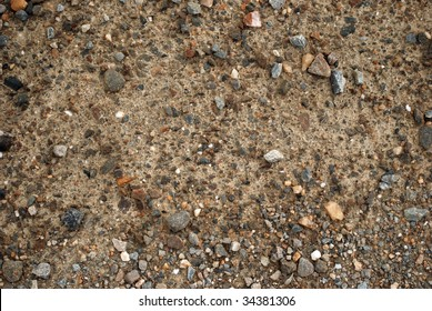 Alaskan gravel road texture