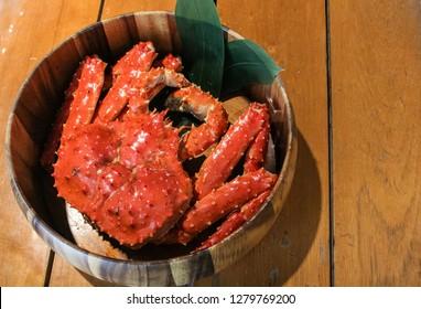 Alaskan king crab or Taraba crab