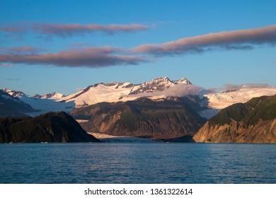 Alaskan Mountain Sunrise