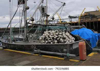 Alaska's fishing industry and its boats