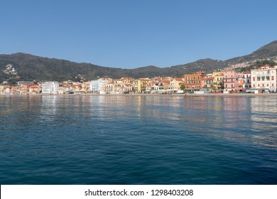 Alassio. Famous tourist destination in Liguria region of Italy