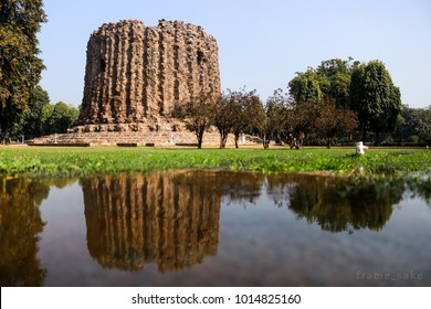 Ala-ud-Din Khilji planned to build Alai minar, twice the size of the Qutub Minar. It had just reached the first storey when Khilji died and the project was abandoned soon after.